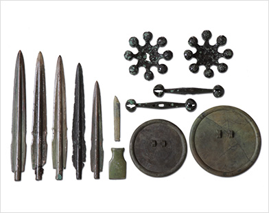 Bronze Artifacts from Daegok-ri, Hwasun